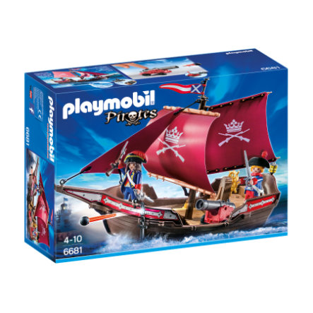 PLAYMOBIL® Pirates Regata della marina 6681
