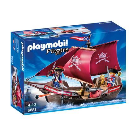 PLAYMOBIL® Pirates Soldatenzeilschip met kanonnen 6681