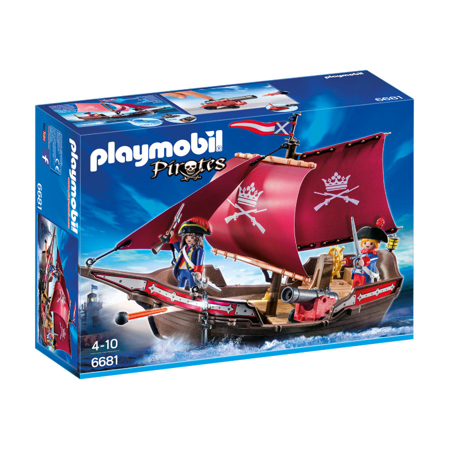 PLAYMOBIL® Pirates Regata della marina 6681