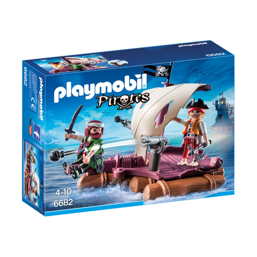 PLAYMOBIL® Pirates Pirátský vor 6682