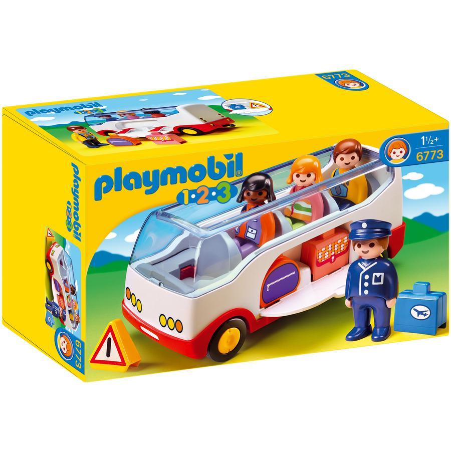PLAYMOBIL® 1 2 3 Reisebus 6773