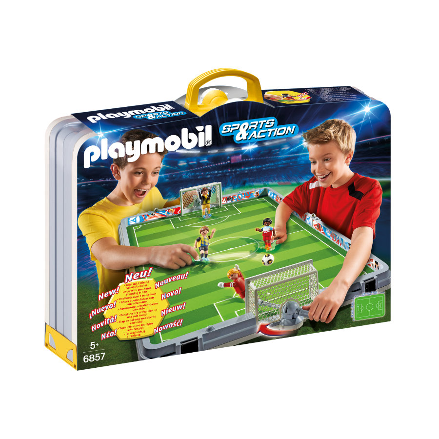 PLAYMOBIL® Sports & Action Campo da calcio pieghevole 6857