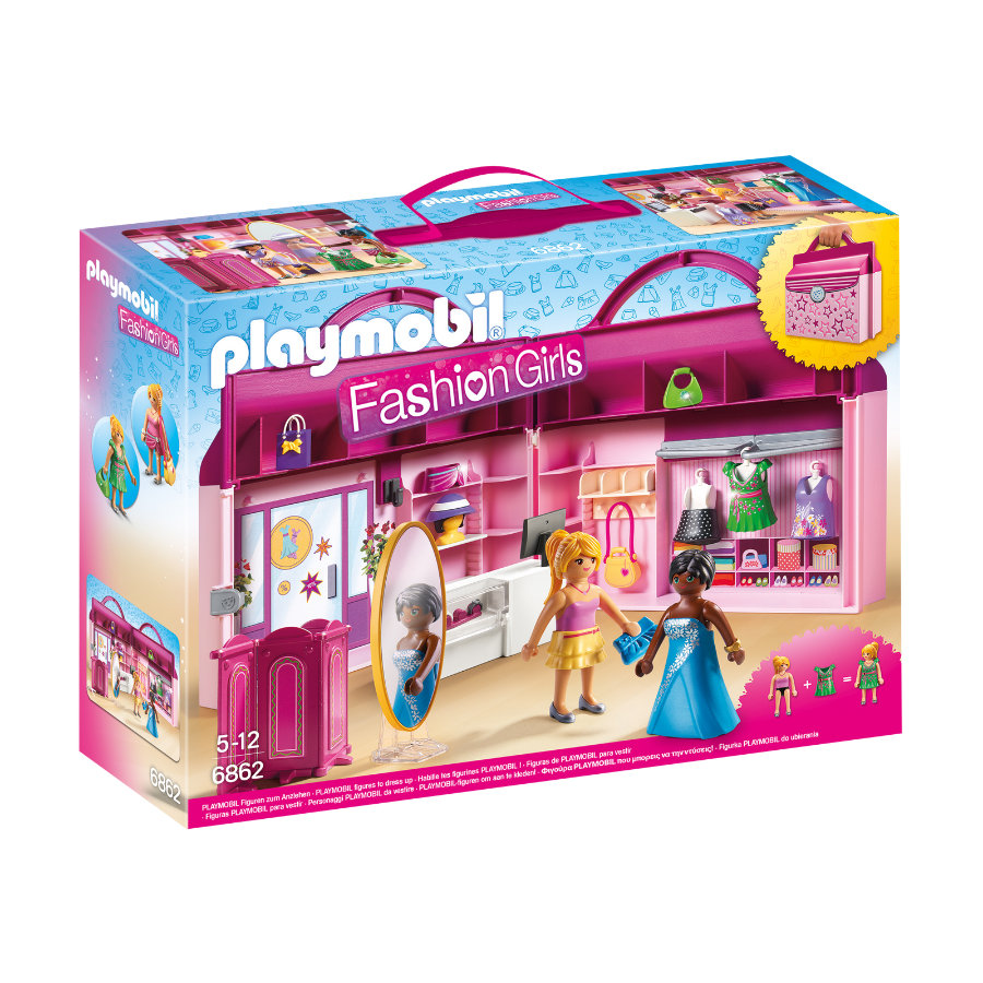 PLAYMOBIL® Dollhouse Meeneem fashionshop 6862