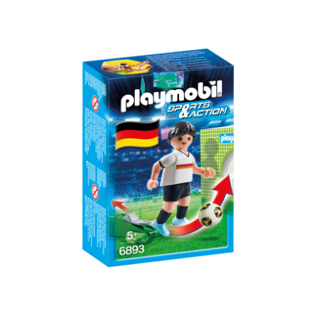 PLAYMOBIL® Sports & Action Fotbalista Německa 6893