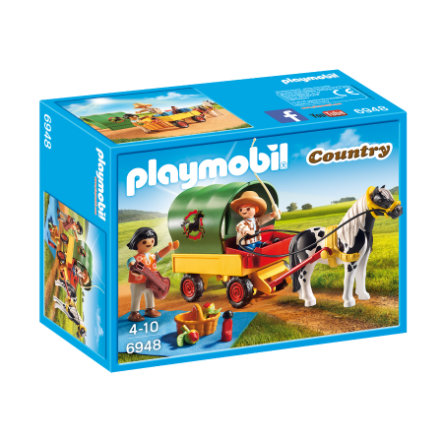 PLAYMOBIL® Country Picknick met ponywagen 6948