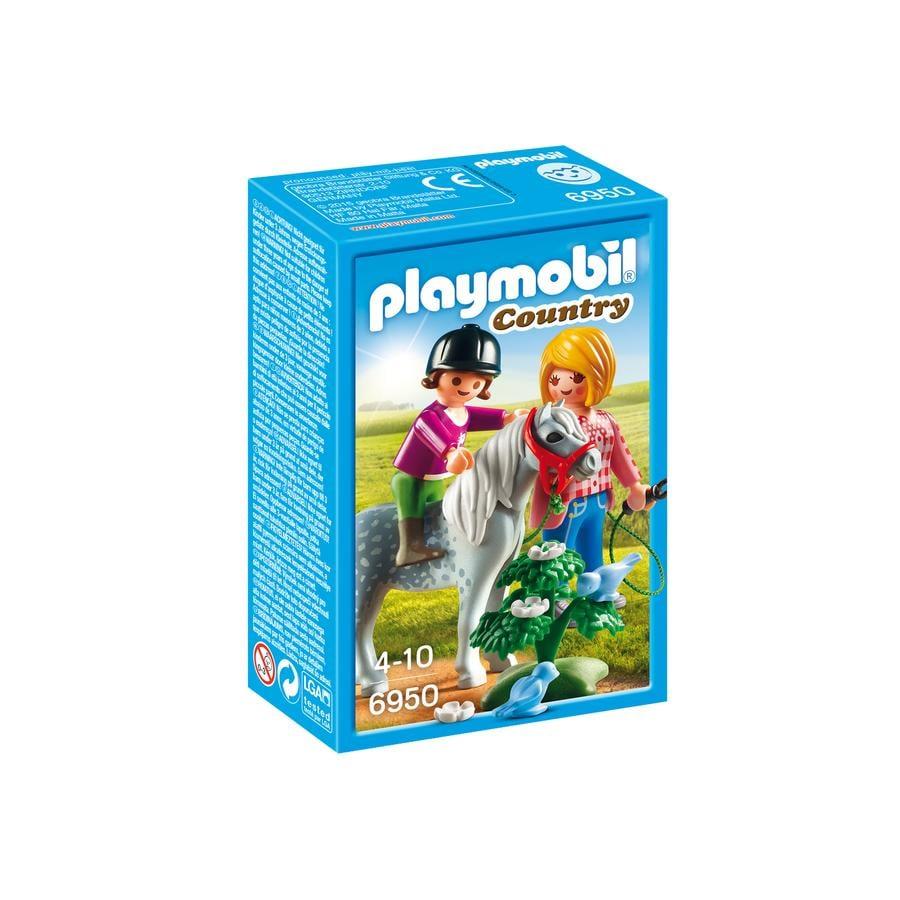 PLAYMOBIL® Country Passeggiata con il pony 6950