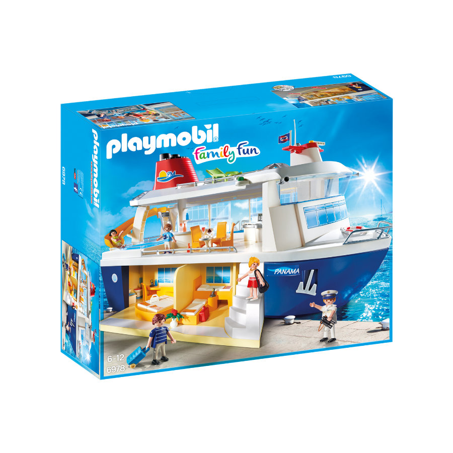 PLAYMOBIL® Family Fun Barco crucero 6978