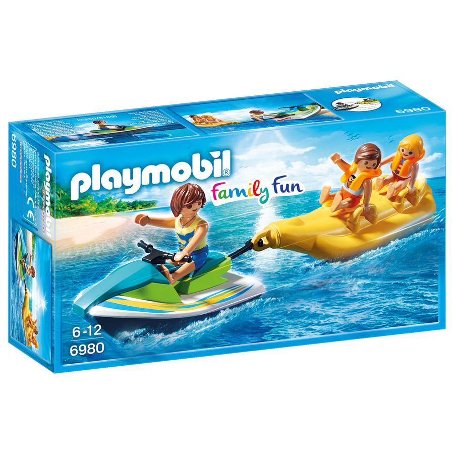 PLAYMOBIL® Moto d'acqua con banana boat 6980
