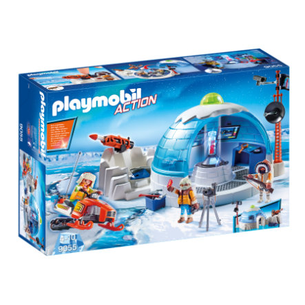 PLAYMOBIL® Action Kwatera Baza polarna 9055