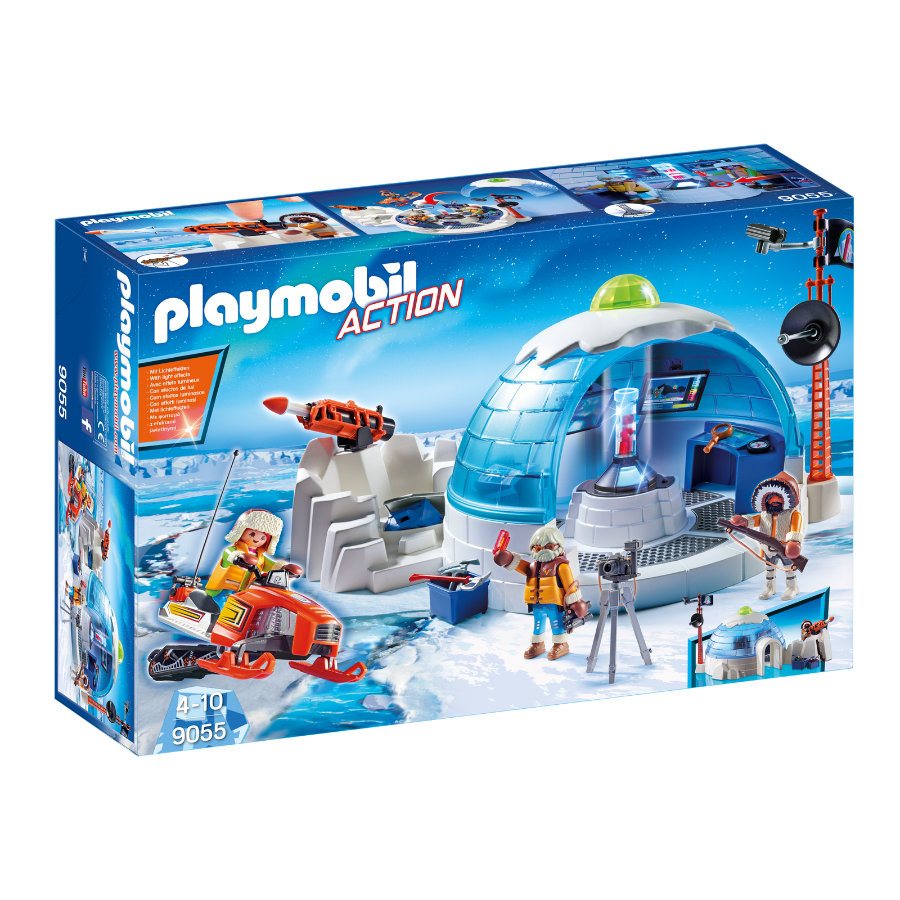 PLAYMOBIL® Action campo base degli esploratori 9055