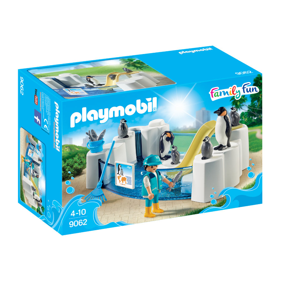 PLAYMOBIL® Family Fun Piscina de pingüinos 9062