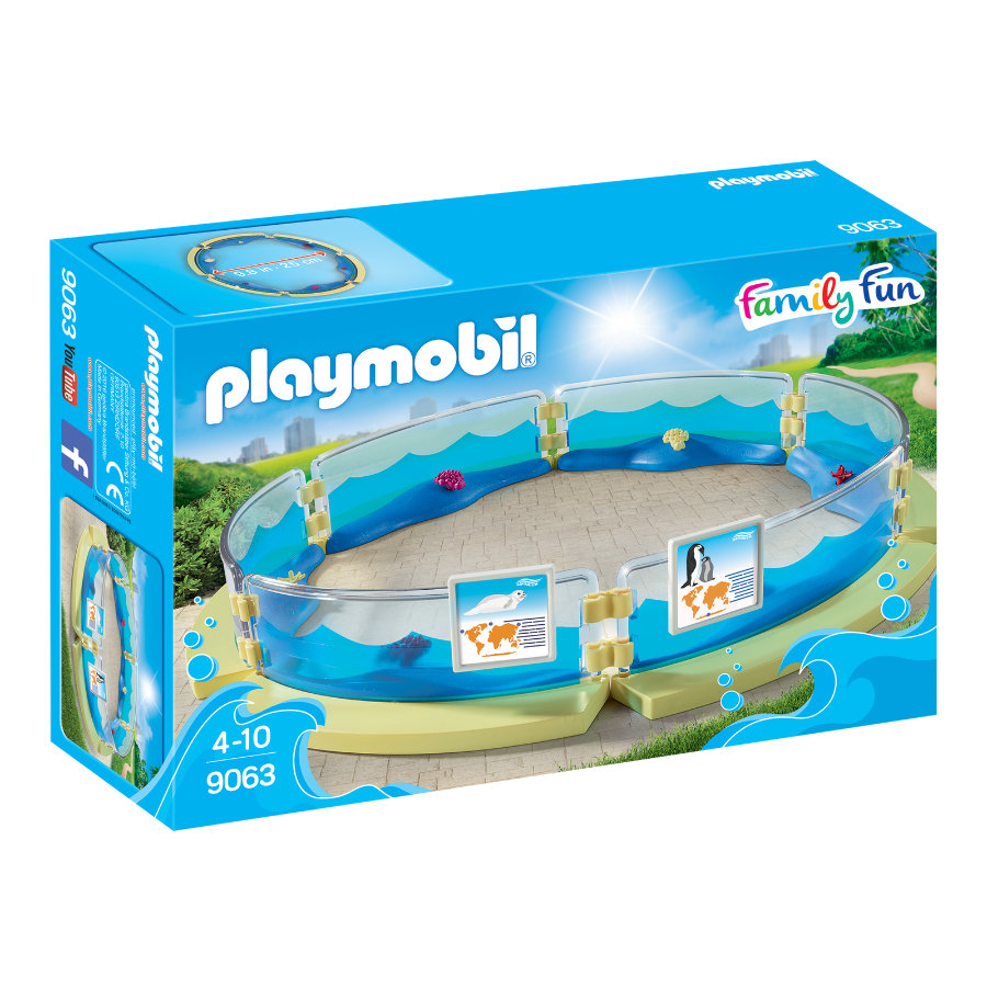 PLAYMOBIL® Family Fun Meerestierbecken 9063