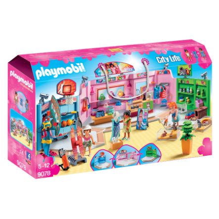 PLAYMOBIL® City Life Galleria con 3 negozi 9078 - pinkorblue.it