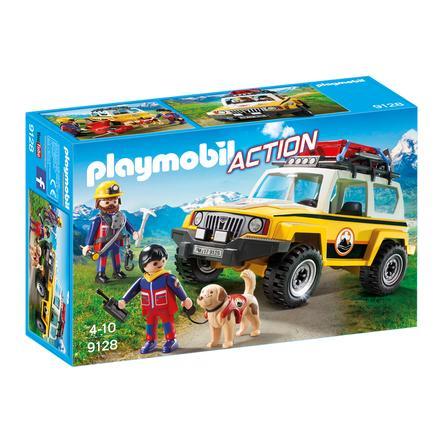 PLAYMOBIL® Action Horské pohotovostní vozidlo se záchranáři 9128
