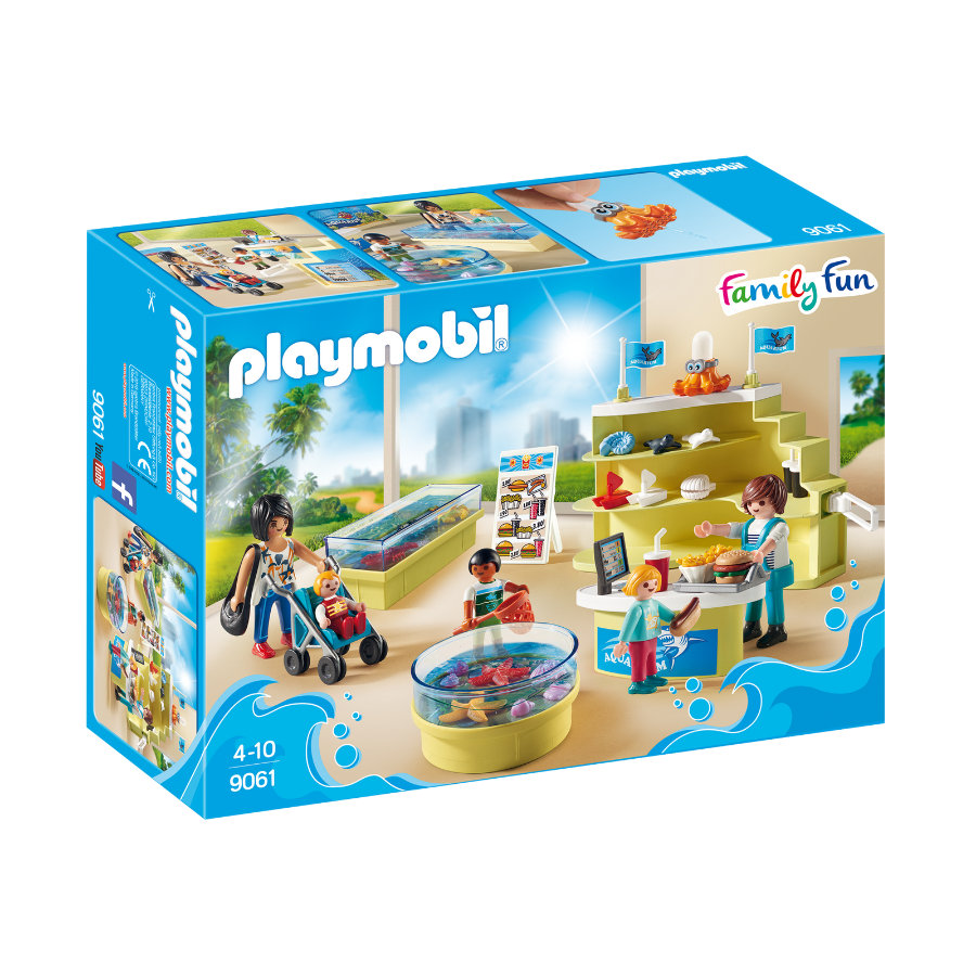 PLAYMOBIL® Family Fun Aquariumshop 9061