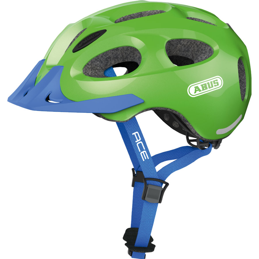 ABUS Kinderhelm Youn-l Ace sparkling green