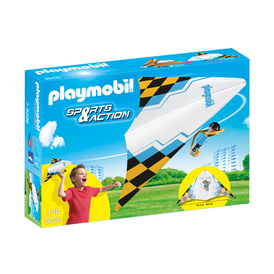 PLAYMOBIL® Sports & Action Drachenflieger Jack 9206