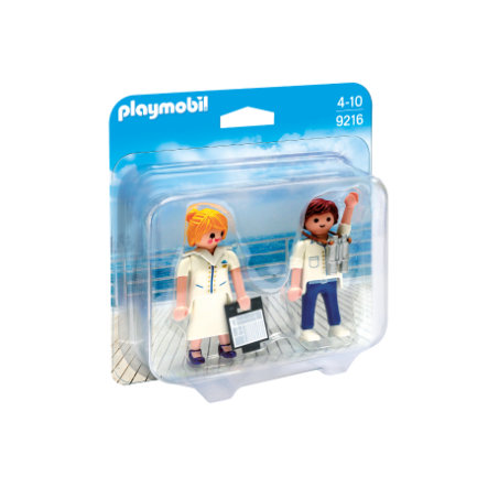 playmobil® Family Fun Duo Pack Stewardess und Offizier 9216