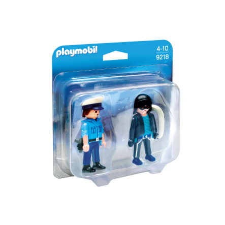 PLAYMOBIL® CITY ACTION Polizist und Langfinger 9218