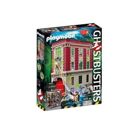 PLAYMOBIL® Ghostbusters™ Puesto de bomberos 9219