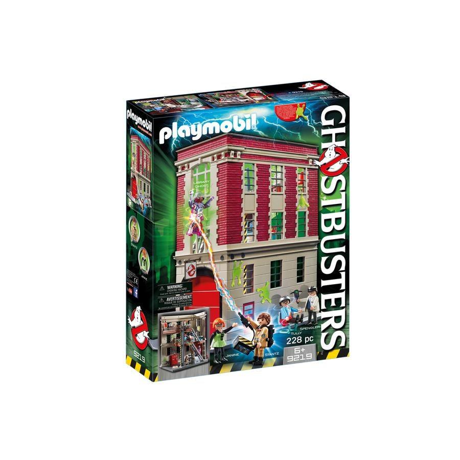 PLAYMOBIL Ghostbusters™® Caserma 9219