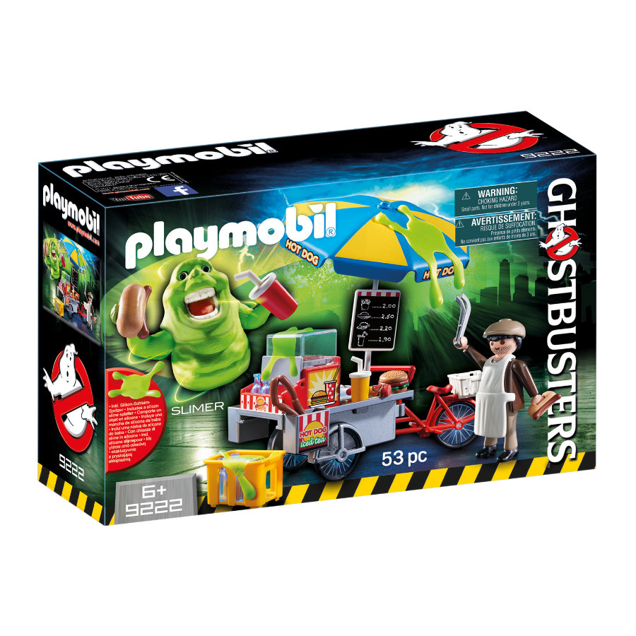 PLAYMOBIL® Ghostbusters™ Slimer mit Hot Dog vogn 9222