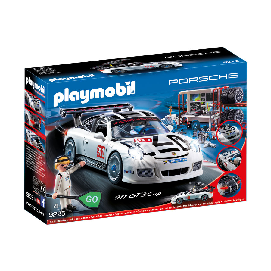 PLAYMOBIL® Sports & Action Porsche 911 GT3 Cup 9225