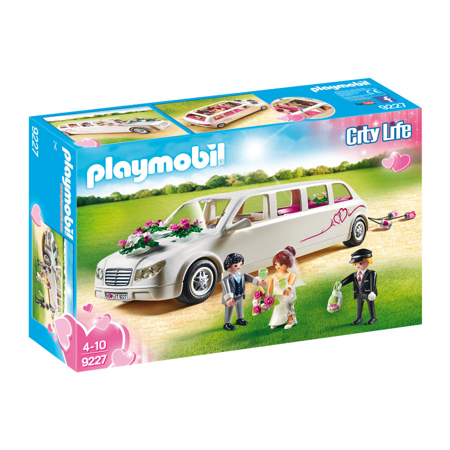 PLAYMOBIL® City Life Limousine 9227