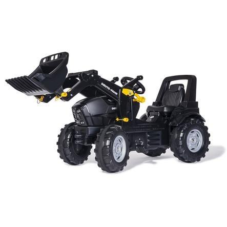rolly toys rollyFarmtrac Deutz Agrotron 7250 TTV Warrior med rollyTrac skop 710348