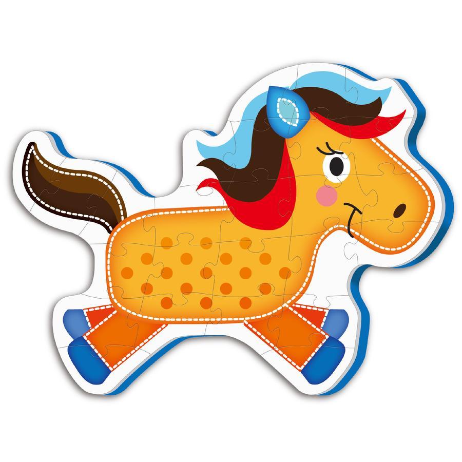 bieco Puzzle koberec kůň Calimero