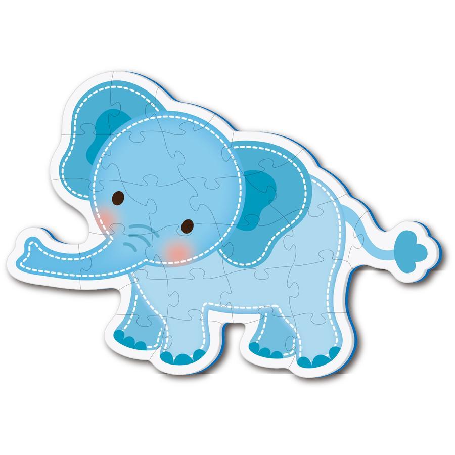 bieco Tappeto Puzzle Elefante Tomboi
