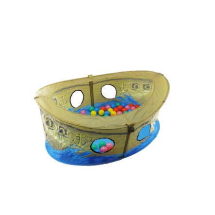 bieco Piratbåd med bolde