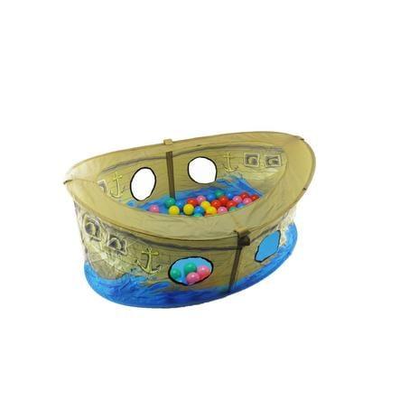 bieco Piratbåt med bollar