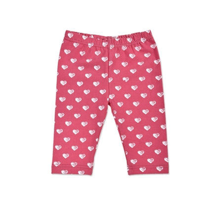 BLUE SEVEN Girls Capri Pink Herz