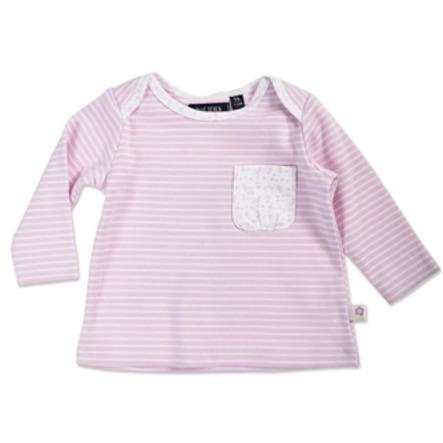 BLUE SEVEN Girls Langarmshirt rosa gestreift