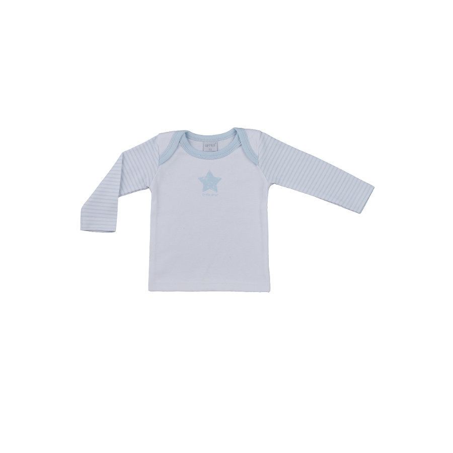 LITTLE Nature Langarmshirt blau
