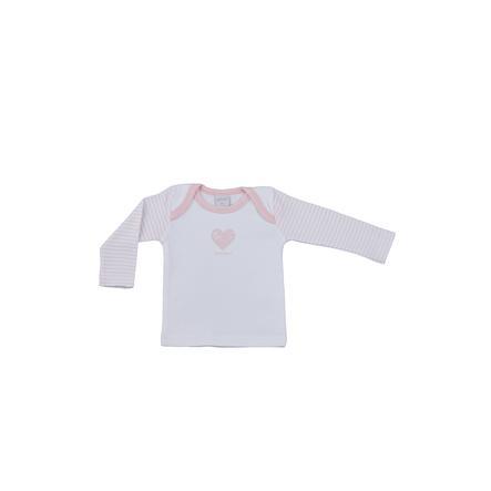 LITTLE Natuur shirt met lange mouwen roze