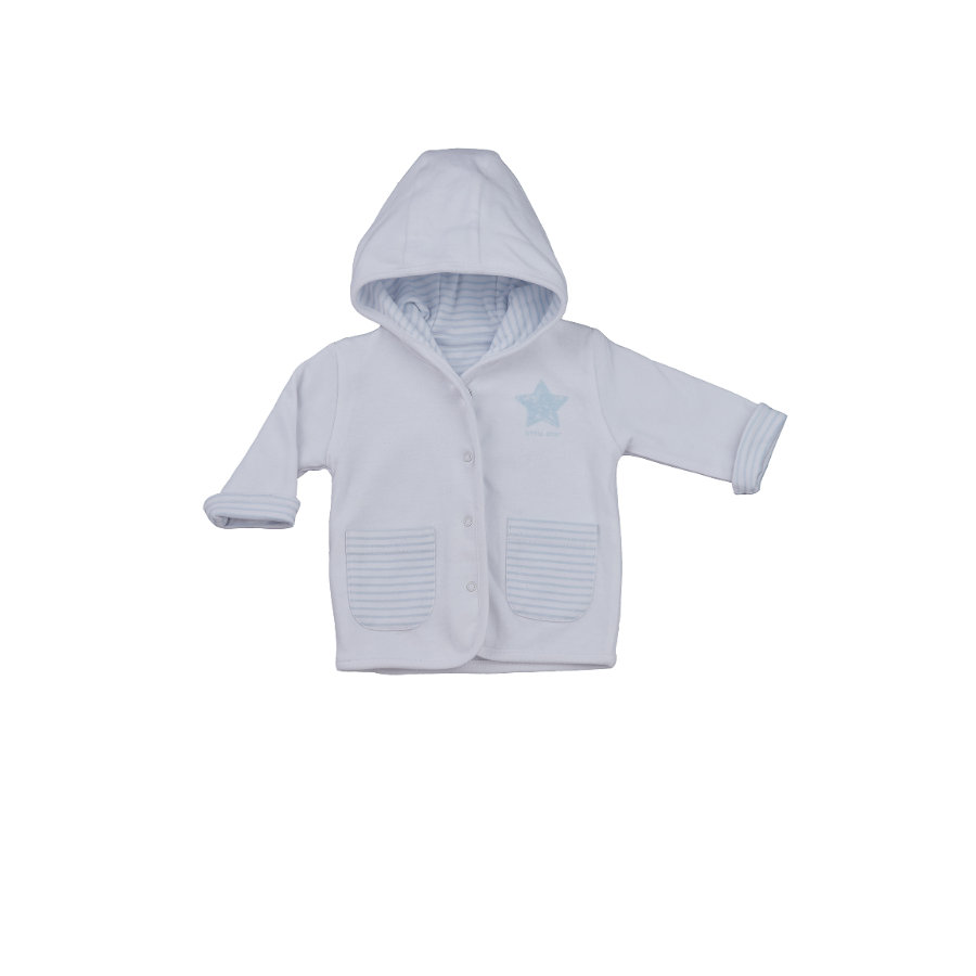 LITTLE Nature Wendejacke blau