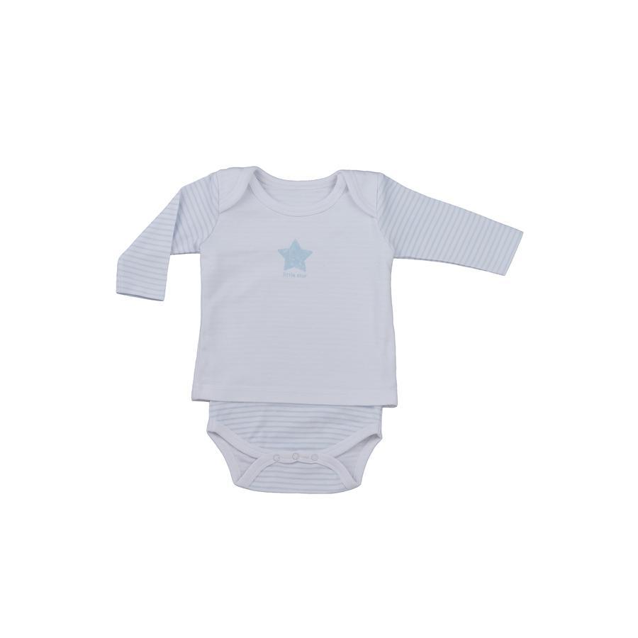 LITTLE Body dziecięce z bluzką Nature, niebieski