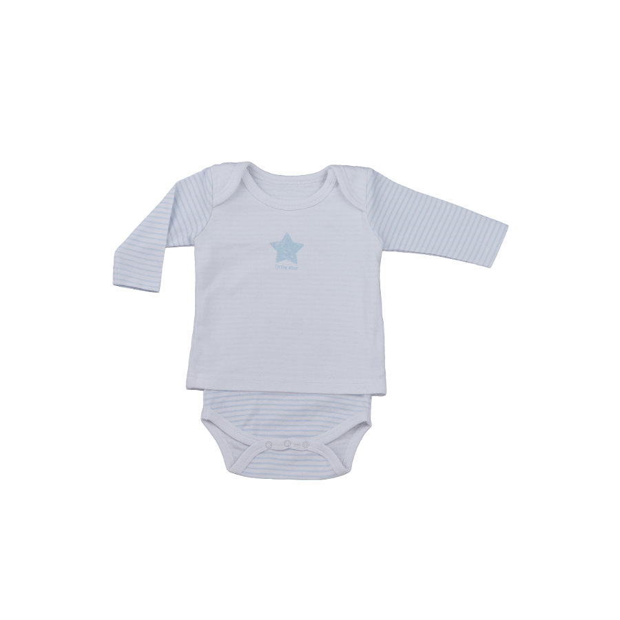 LITTLE Camiseta Nature Body-Shirt azul