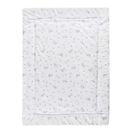 Schardt Manta de arrastre 100 x 135 cm Tiny Star s blanco