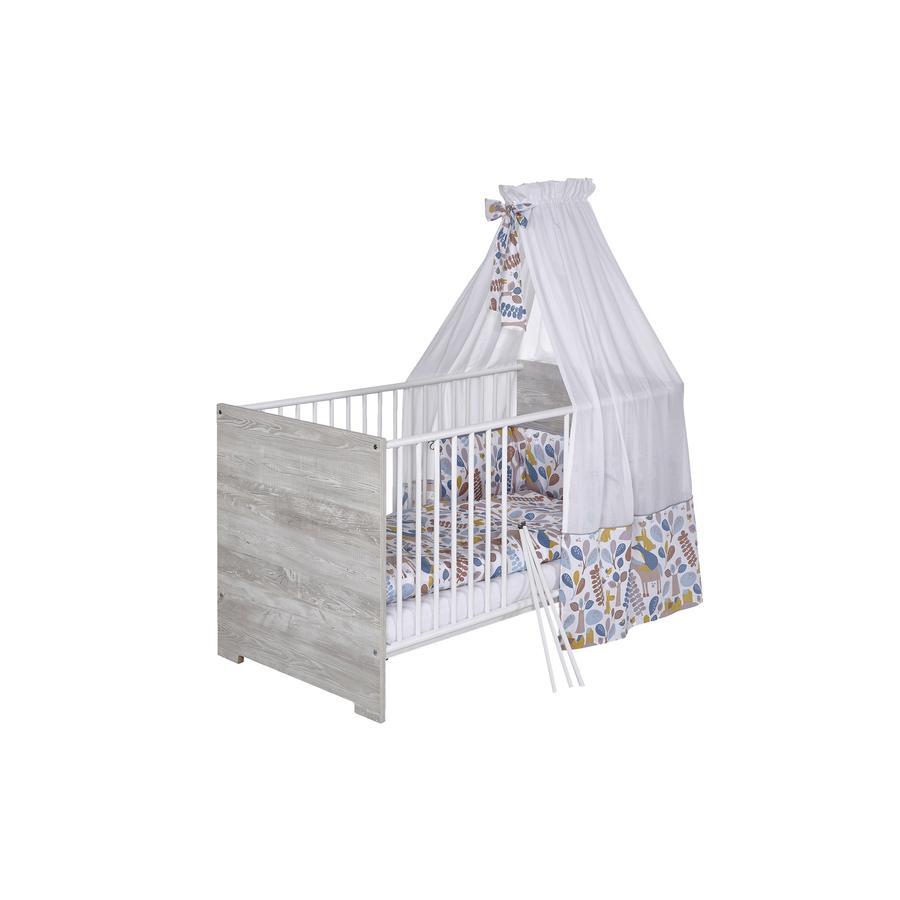 Schardt Zestaw łóżek 4 sztuki 100 x 135 cm Nest lub niebieski