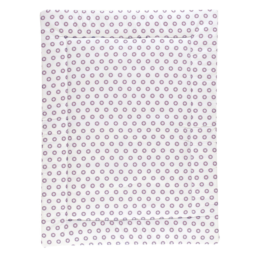 Schardt Couverture d'éveil Circle Star, 100 x 135 cm, lilas