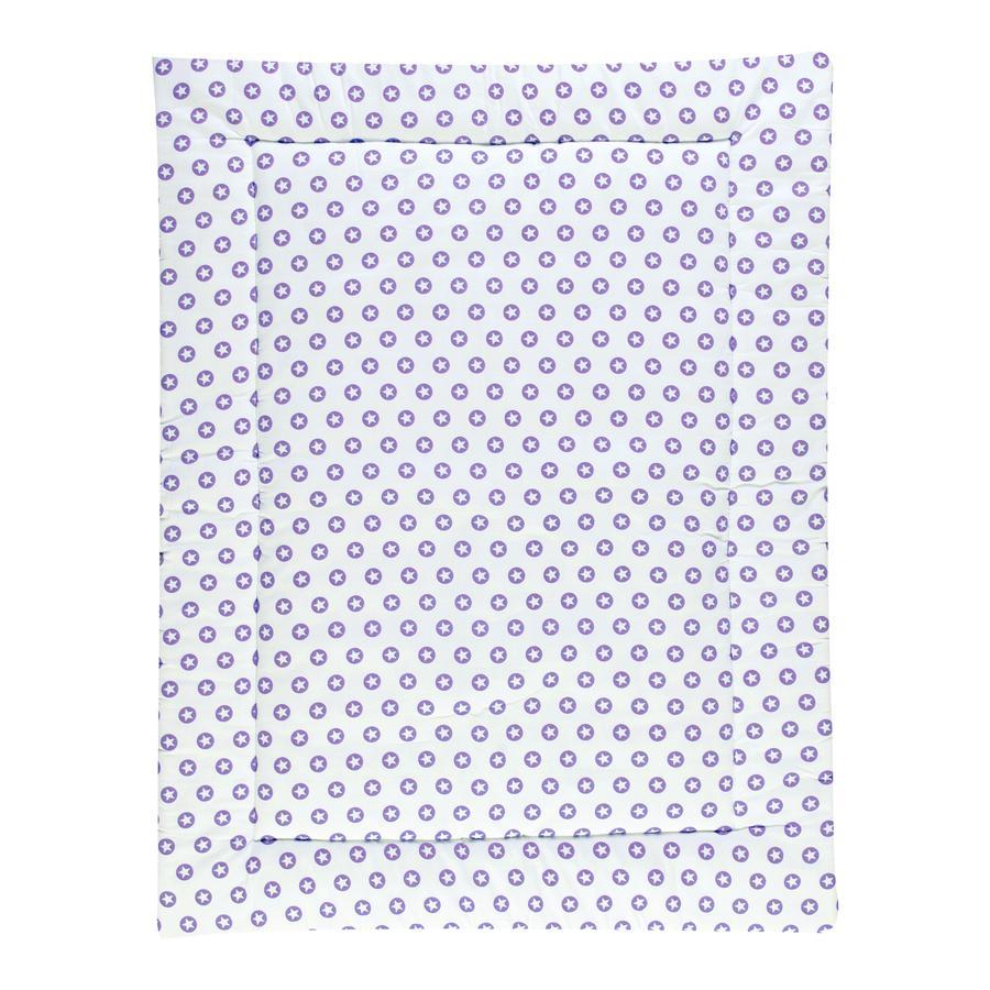 Schardt Hrací deka 100 x 135 cm Circle Star fialová