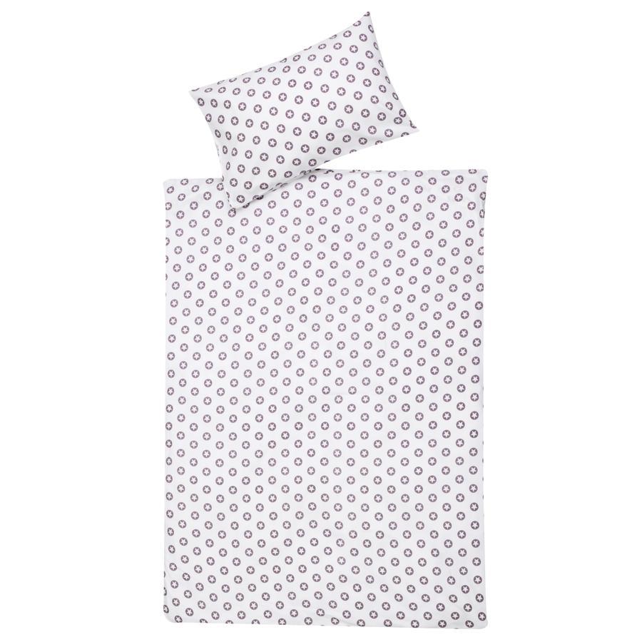 Schardt Ropa de cama de 2 piezas 100 x 135 cm Circle Star púrpura