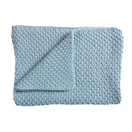 Schardt Pletená deka 75 x 100 cm světle modrá