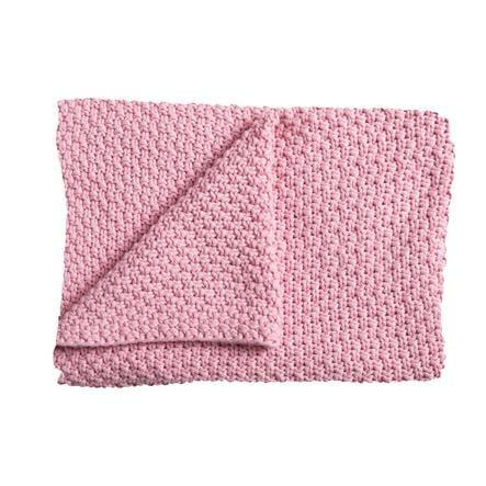 Schardt Copertina a maglia 75 x 100 cm rosa antico