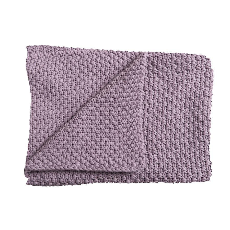 Schardt Pletená deka 75 x 100 cm fialová