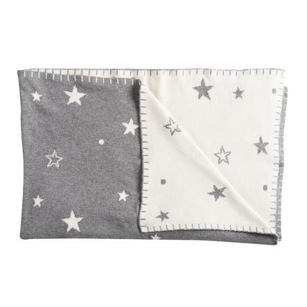 Schardt Koc dla niemowląt 95 x 120 cm gwiazda-szary