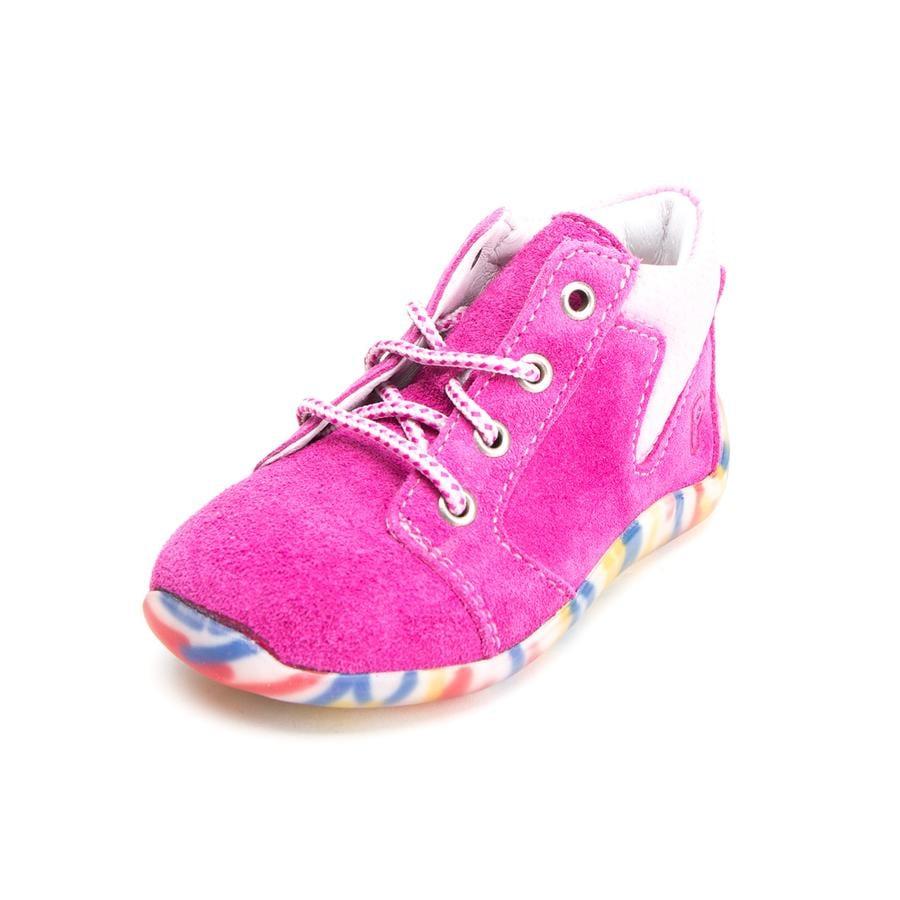 Pepino Girls Buty do nauki chodzenia Charlie pop/pink (średnie)